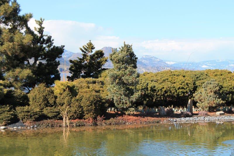Parques de Okanagan imagenes de archivo