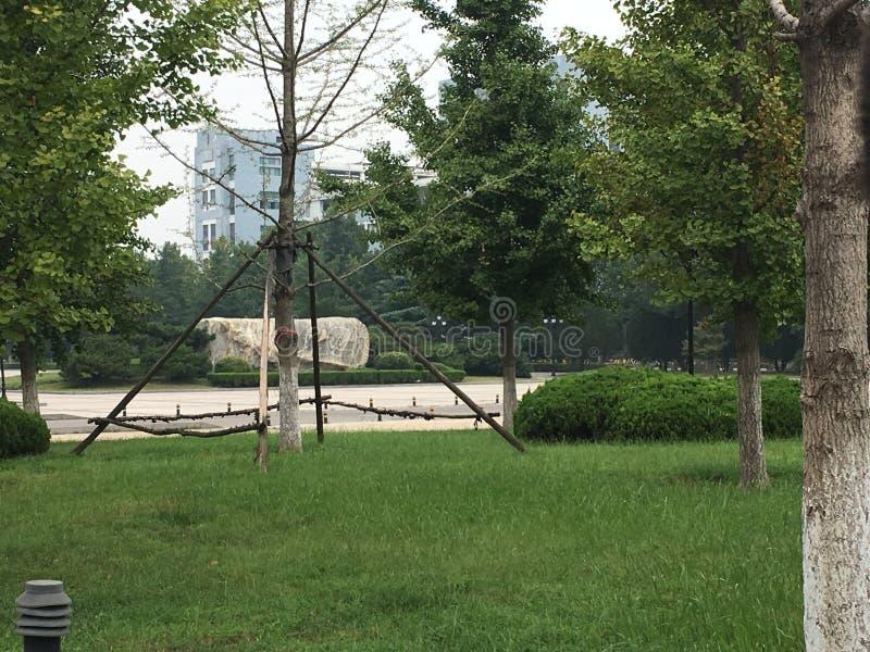 Parques Elegantes imagens de stock royalty free