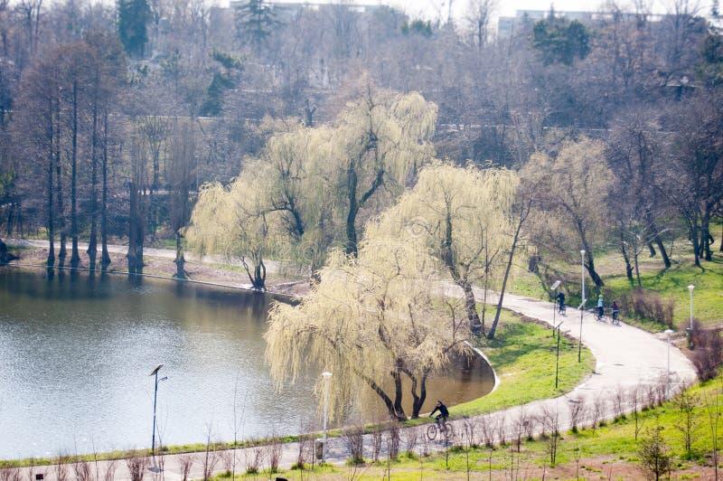 Parques em Bucareste fotografia de stock royalty free