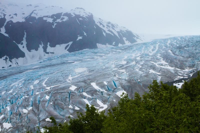 Parques nacionales de Alaska imagen de archivo