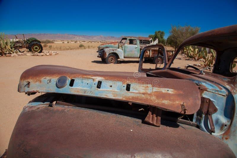 Parques nacionales de la ciudad del solitario de Namibia entre el desierto y la sabana imágenes de archivo libres de regalías