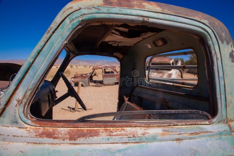 Parques nacionales de la ciudad del solitario de Namibia entre el desierto y la sabana fotografía de archivo