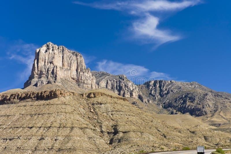 Parques nacionales de las montañas de Guadalupe imagen de archivo