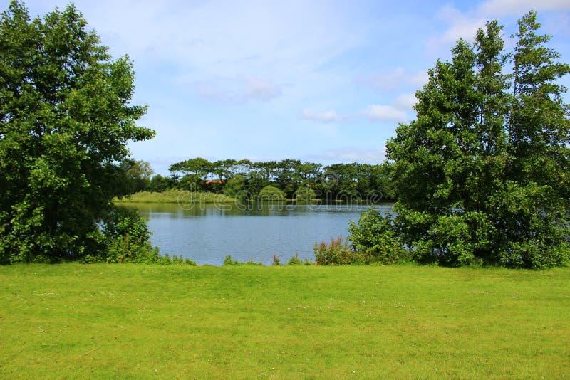 Parques y lagos de Dinamarca fotos de archivo libres de regalías