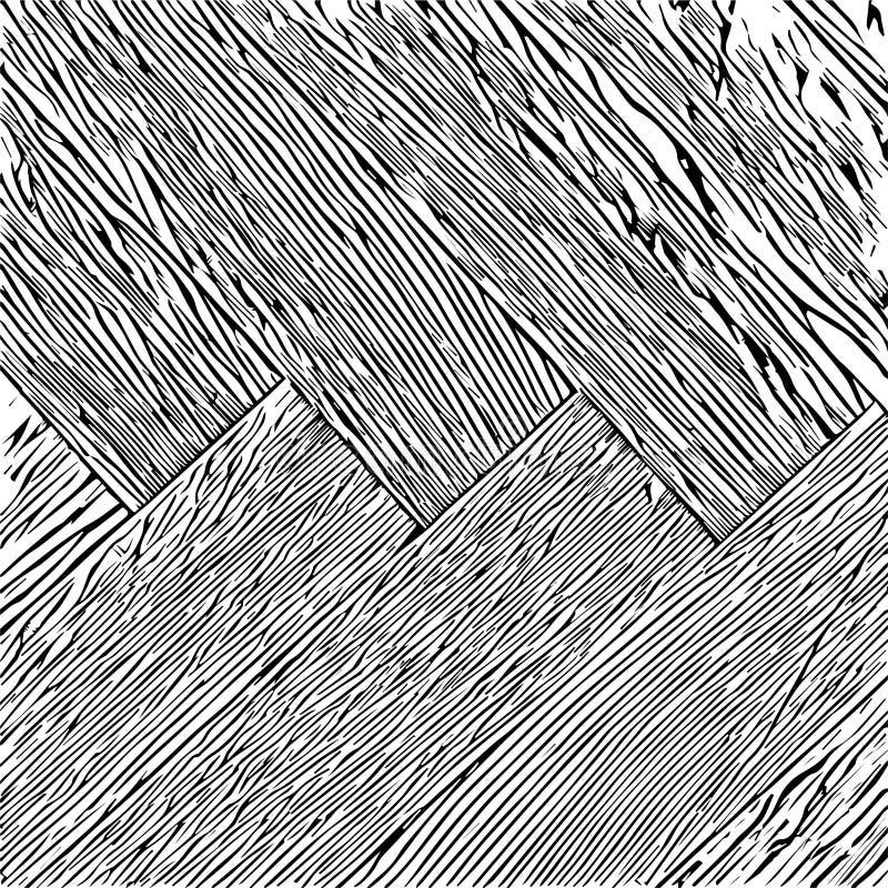 parquet illustration de vecteur