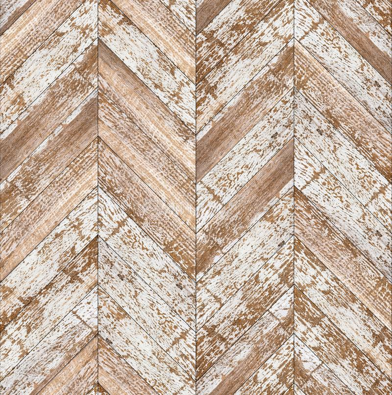 Parquet chevron bleached oak seamless floor texture stock images