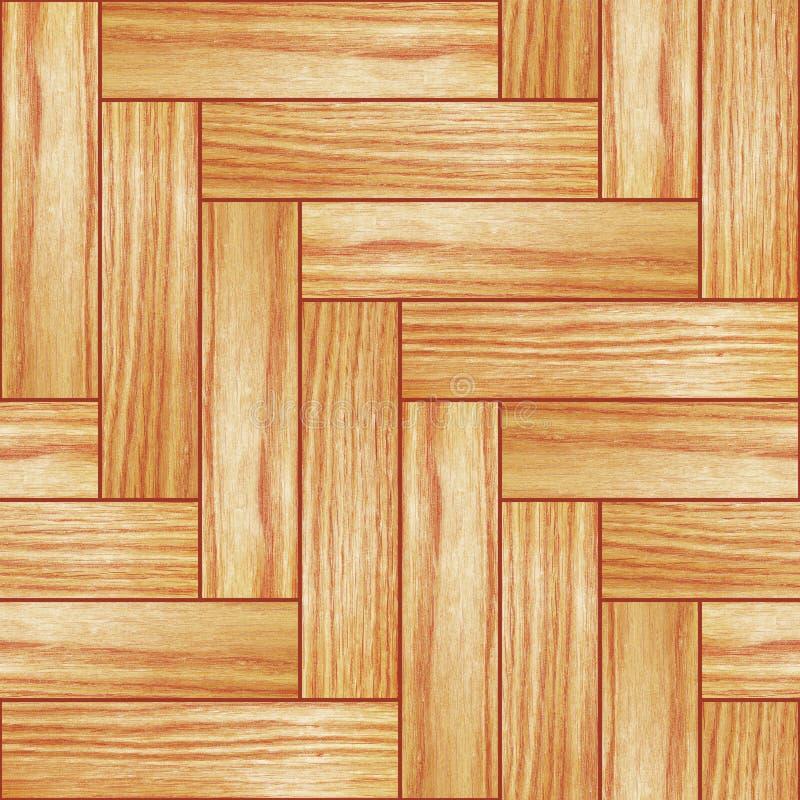 Parquet de madeira ilustração royalty free
