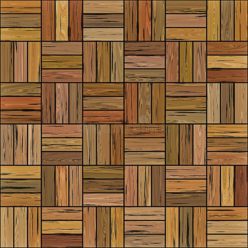 Parquet de madeira do assoalho ilustração stock