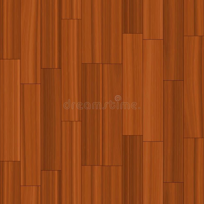 Parquet en bois de plancher illustration de vecteur