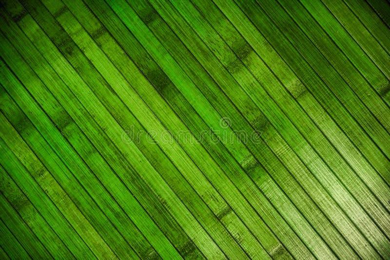 Parquet en bois vert photos stock