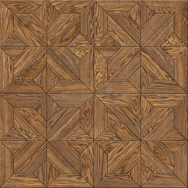 Parquet flooring design seamless texture royalty free stock images