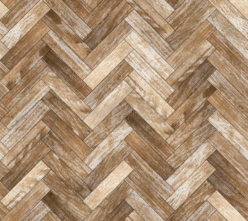 Parquet herringbone bleached oak seamless floor texture royalty free stock photo