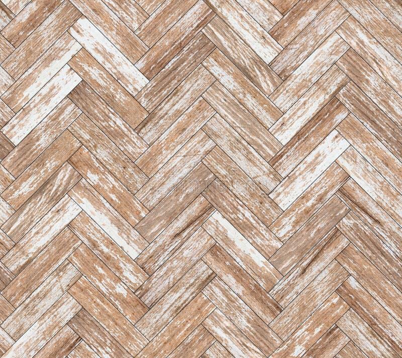 Parquet herringbone bleached oak seamless floor texture. Or background royalty free stock photos