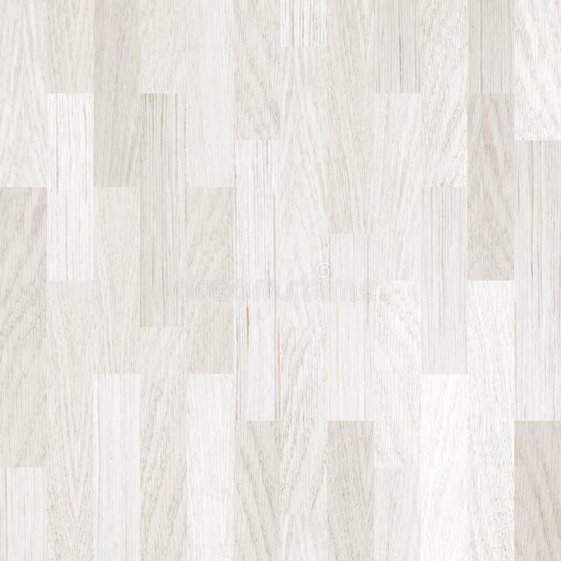 Parquet o pavimentazione di legno bianco del pavimento fotografia stock