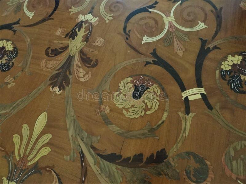 Parquet unico del trono Corridoio in Eritazh, St Petersburg fotografie stock