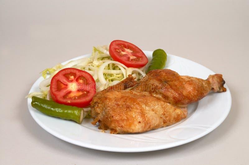 Download Parrilla del pollo imagen de archivo. Imagen de comida - 1294685