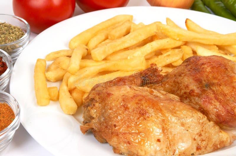 Download Parrilla del pollo imagen de archivo. Imagen de roast - 1295129