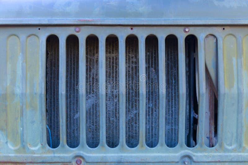 Parrilla vieja del camión imagen de archivo