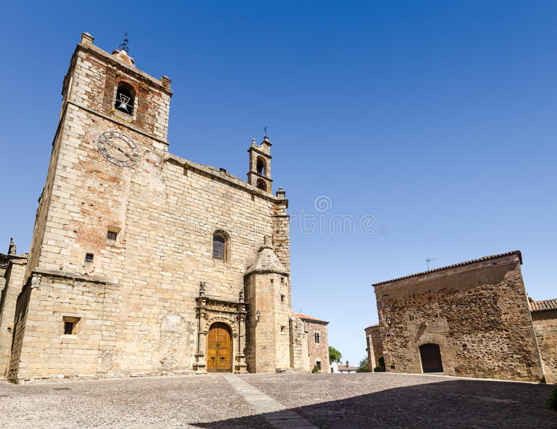 Parroquia De San Mateo y Convento de San Pablo lizenzfreie stockfotos