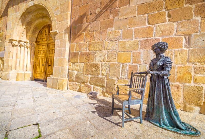 Parroquia DE Santa MarÃa de Burgemeester van La stock fotografie