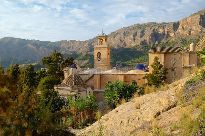 Parroquia de Santiago Apostol imágenes de archivo libres de regalías