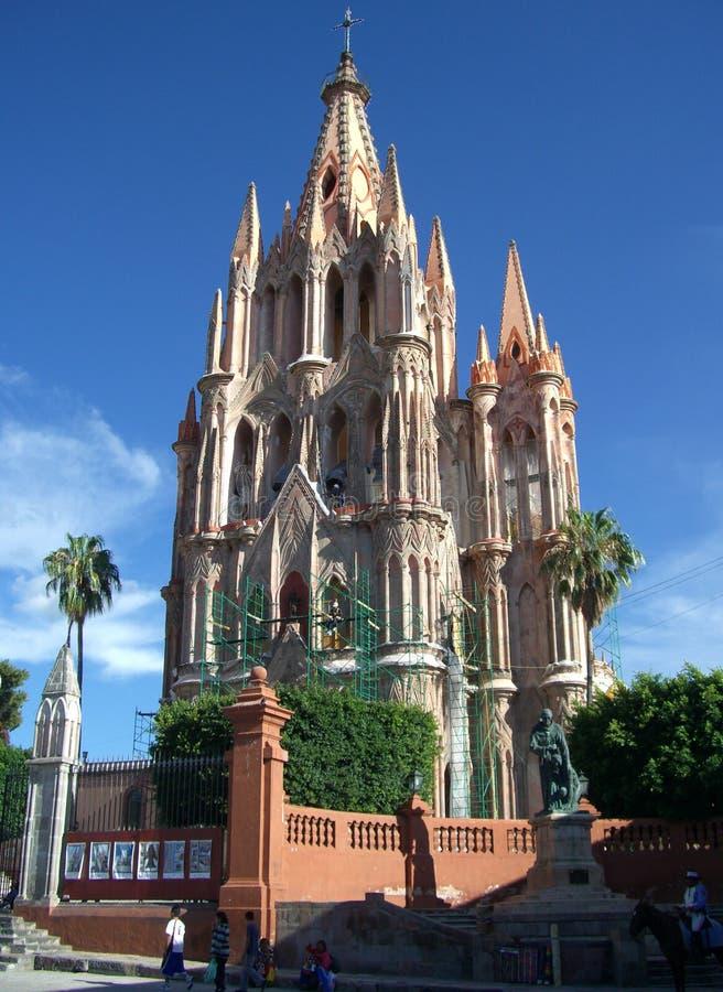 Parroquia Kathedrale-Mexiko lizenzfreies stockbild