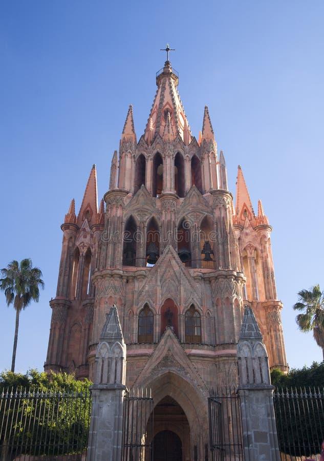 parroquia san Мексики miguel церков archangel стоковые фотографии rf