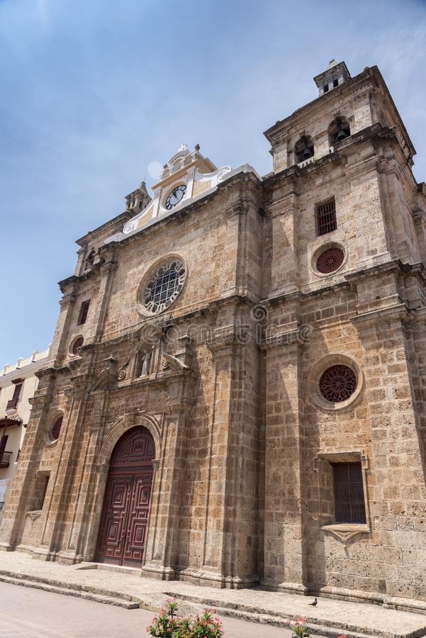 Parroquia San Pedro Claver Iglesia y Santuario San Pedro Claver images stock