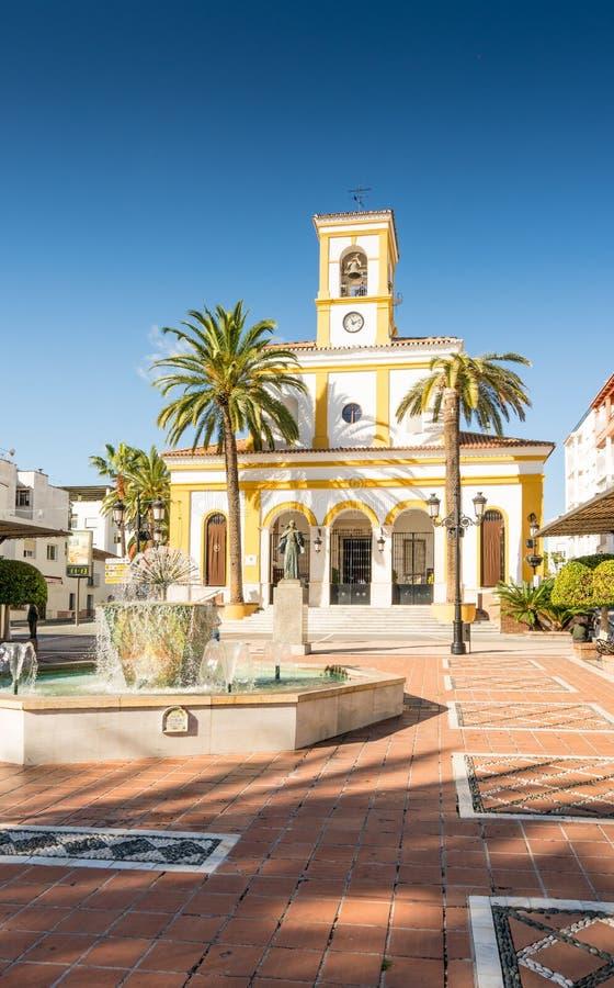 Parroquia San Pedro de Alcantara foto de stock royalty free