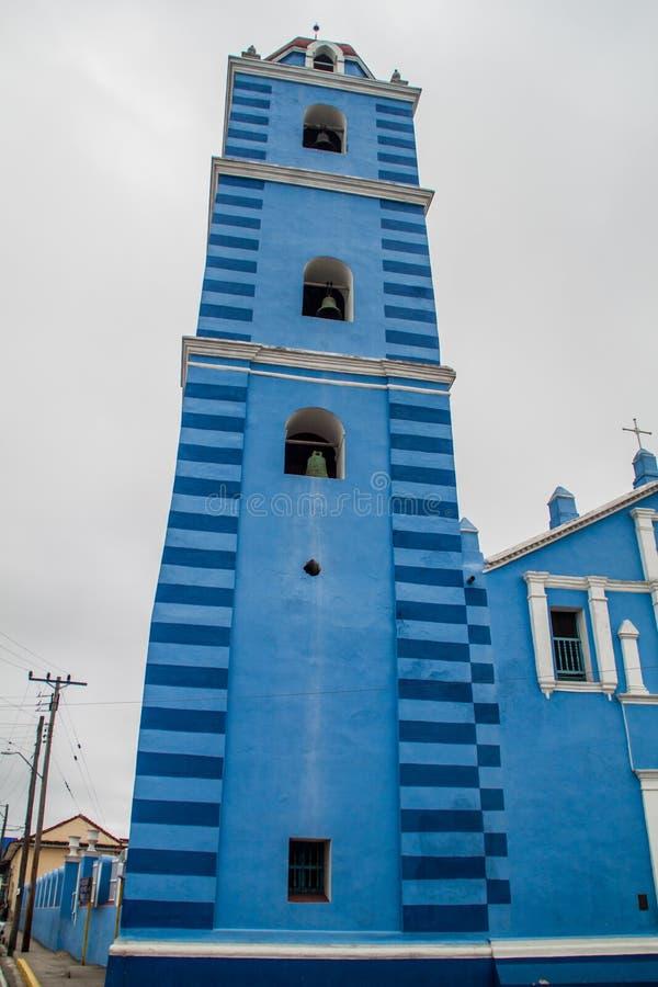 The Parroquial Mayor church in Sancti Spiritus, Cuba. Cuba`s oldest churc. H royalty free stock images