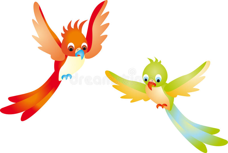 Download Parrot stock illustration. Image of climate, characters - 12572251