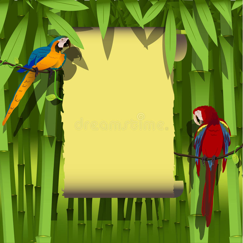 Download Parrot stock vector. Illustration of foundation, sign - 22232756