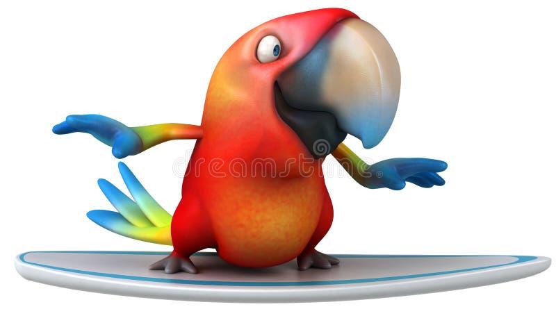 Download Parrot stock illustration. Image of beak, pretty, jungle - 25459514