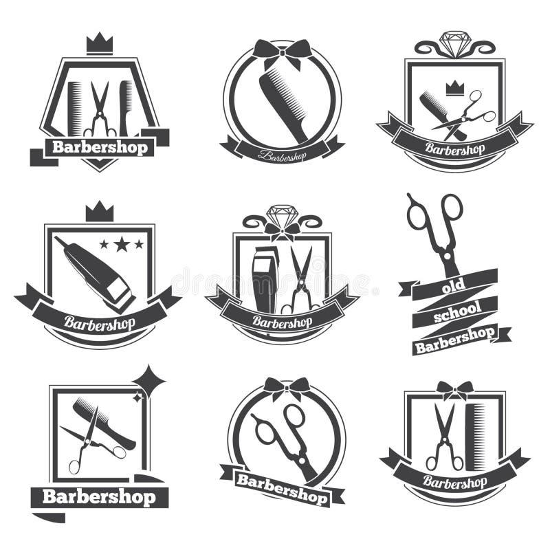 Parrucchiere di logo della raccolta illustrazione for Simbolo barbiere
