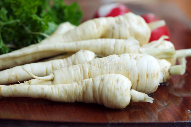 Parsnips stock photography