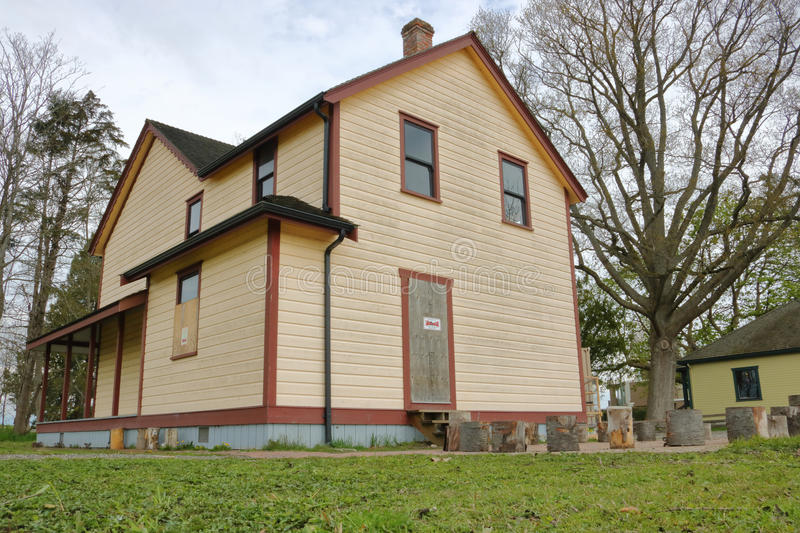 Download Parson House In Richmond, British Columbia Editorial Image - Image of revival, restoration: 90836485