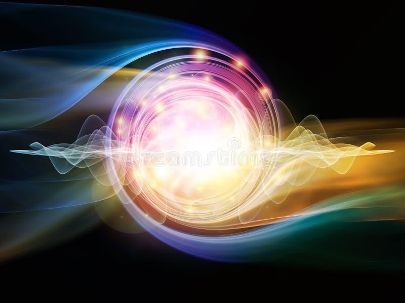 Download Partícula de la onda stock de ilustración. Ilustración de movimiento - 42427596