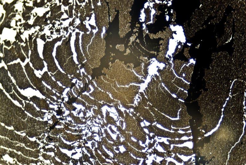 Partículas de hollín microscópicas foto de archivo