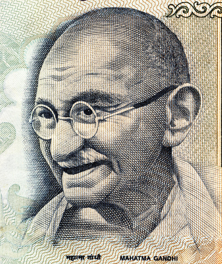 Part Of 100 Indian Rupees Royalty Free Stock Images