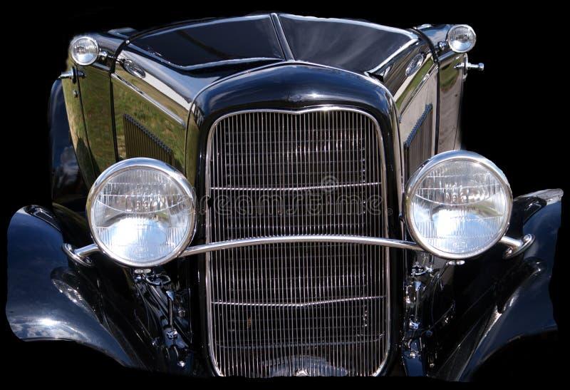 Part of a 1932 Vintage Automobile stock photo