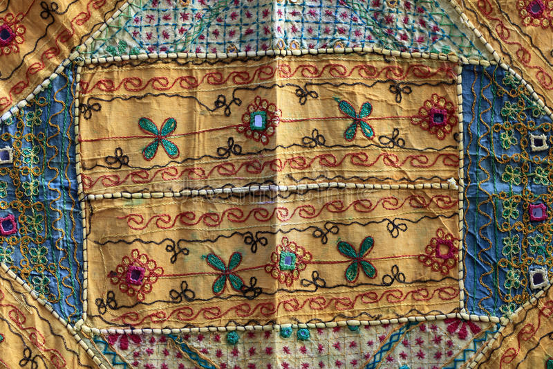 Part of arabic carpet. The part of arabic carpet as background stock photography