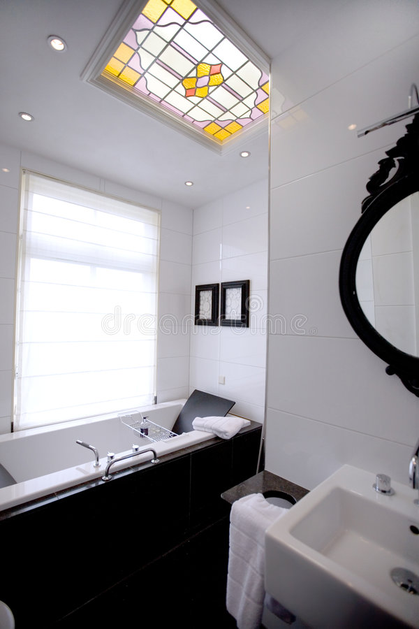 Part of bathroom stock images