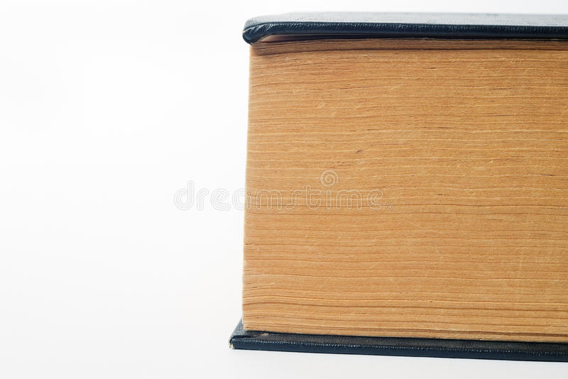 Download Part of big old book stock photo. Image of isolated, research - 13090710