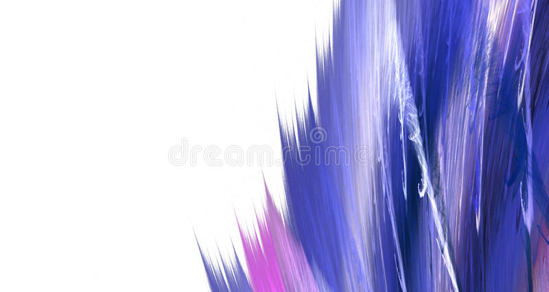 This part of the blue blots on white background royalty free illustration