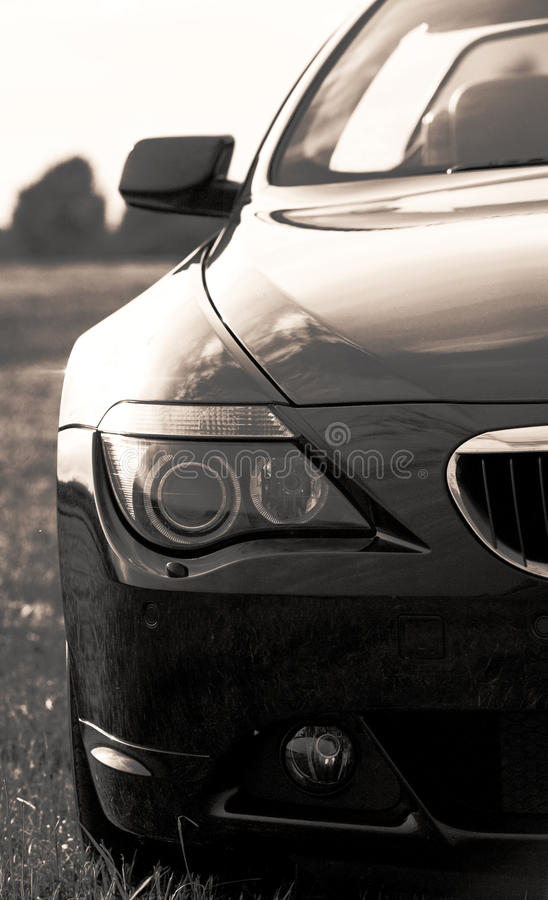 Download Part Of Bmw Sports Car, Cabriolet Royalty Free Stock Images - Image: 14865729