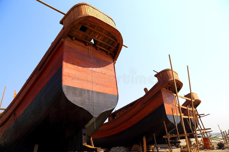 Part of Boats stock images