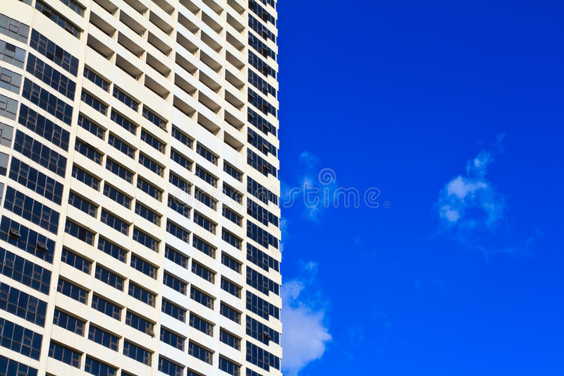A part of building against blue sky royalty free stock images
