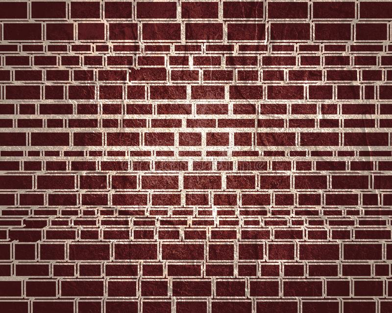 Part of the castle wall. Part of the abstract castle defense wall. Ancient brick wall texture stock illustration