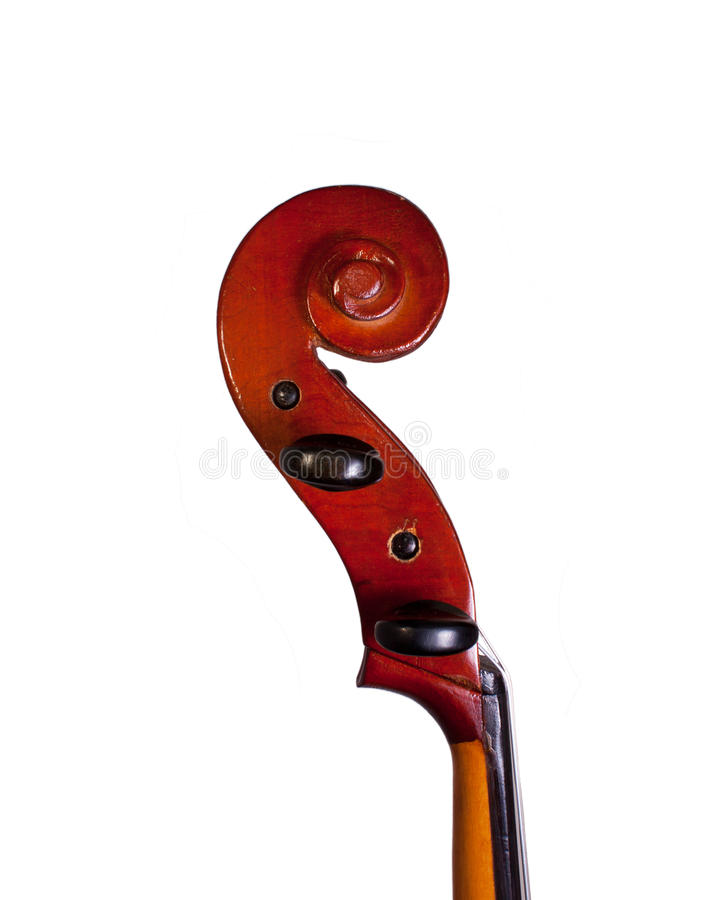 Part of cello royalty free stock photography