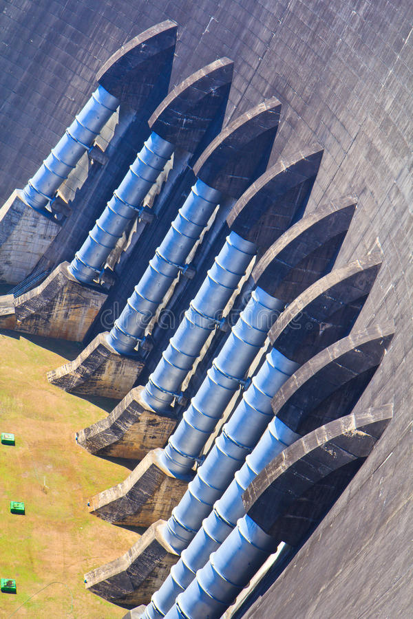 Download A part of concrete dam stock photo. Image of alternative - 33200940